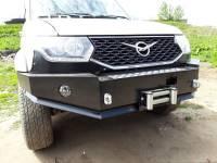 Бампер передний Рубикон на УАЗ Патриот