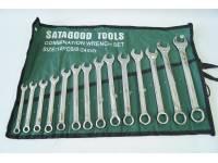 Набор инструментов  14 предметов (ключи р/накидные 8-24мм) сумка