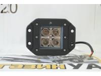 Фара светодиодная CH039 16 Вт 4 диода по 4 Вт врезная