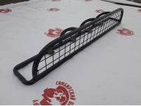 Люстра на УАЗ Патриот с защитной сеткой (50х50) с креплением в водосток или на рейлинги