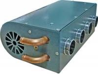 Печка-обогреватель салона автомобиля 12v 4 выхода, металлический корпус с управлением