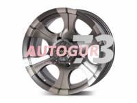 Диск колесный литой CEPEK серебристо-серый 16x8 5X139.7 d110 ET-15 M/GRA PDW
