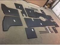 Обивка салона жесткая 452, комплект 20 предметов