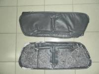 Утеплитель радиатора (в/кожа, поролон, ватин) на УАЗ 452, серый