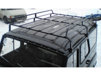 Багажник на УАЗ Хантер Стандарт разборный (6 опор)