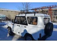 Багажник на УАЗ Хантер Турист (6 опор)