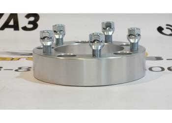 Расширитель колеи (Проставки) на УАЗ (5*139,7) 40 мм (дюраль), 1 шт